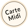 Carte du Midi au Bar - Restaurant l'Adress à Vallandry